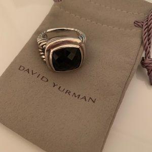 David Yurman Albion Black Onyx Statement Ring